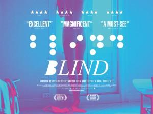 blind uk poster